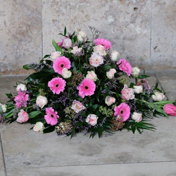 Blumenbukett in rosa Bild 1