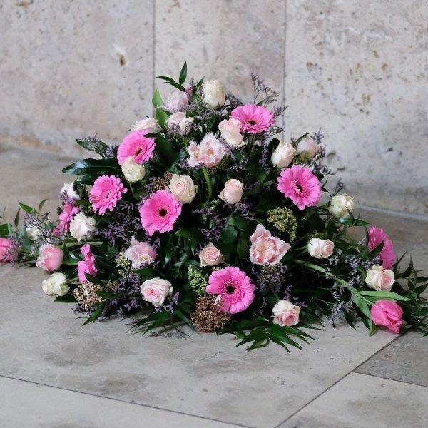 Blumenbukett in rosa Bild 2