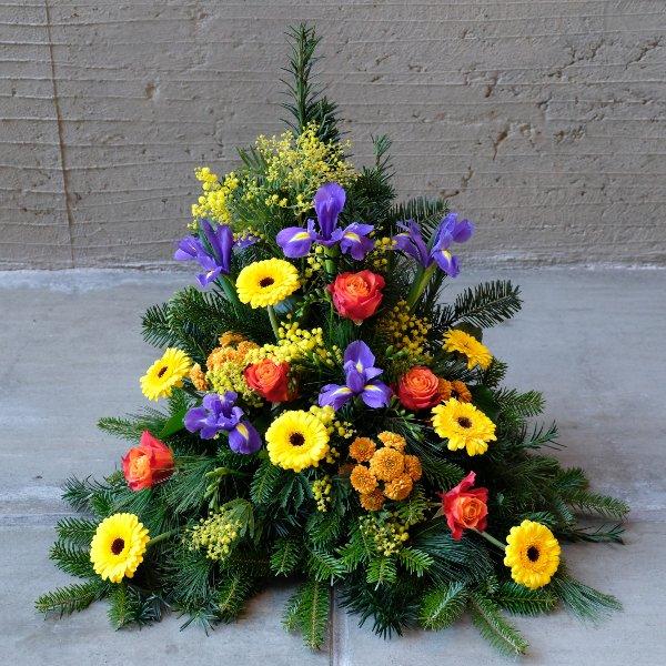 Blumenbukett in bunt Bild 1