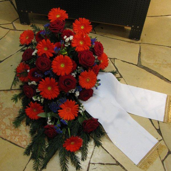 Blumenbukett, rot Bild 1