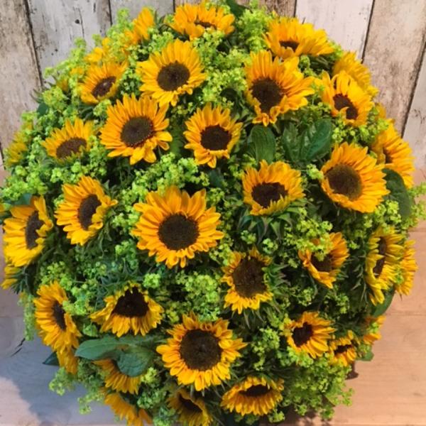Sonnenblumenkugel Bild 1