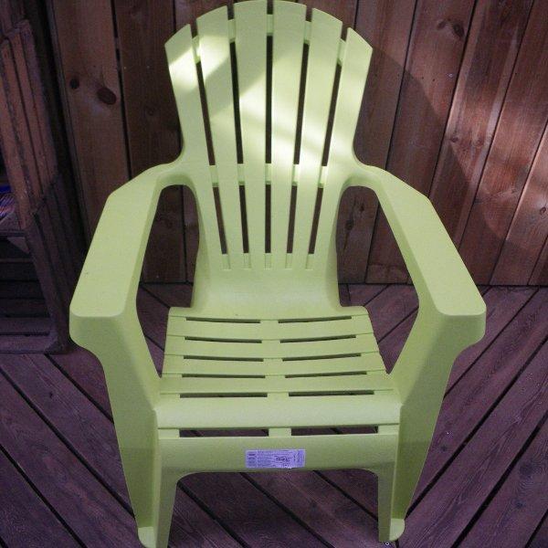 Relaxstuhl aus Kunststoff Bild 2
