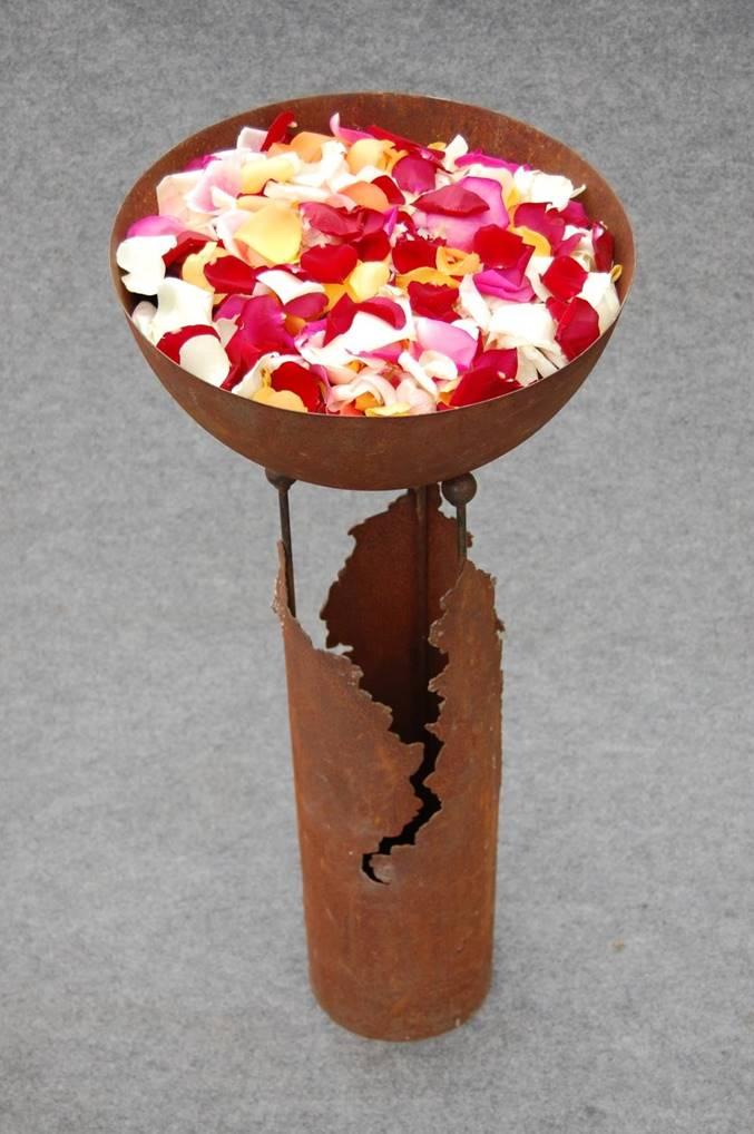 Blütenblattschale Bild 2
