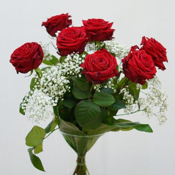 """Rosenstrauß  """"ewige Liebe"""" Bild 1"""