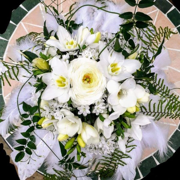 Brautstrauß Federleicht Bild 2