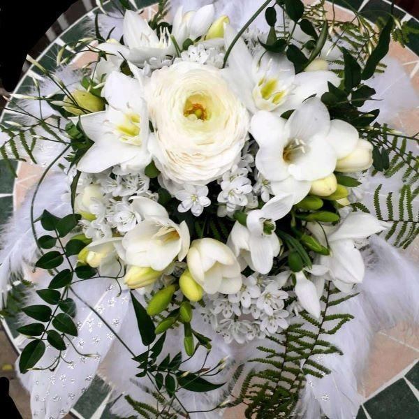 Brautstrauß Federleicht Bild 3