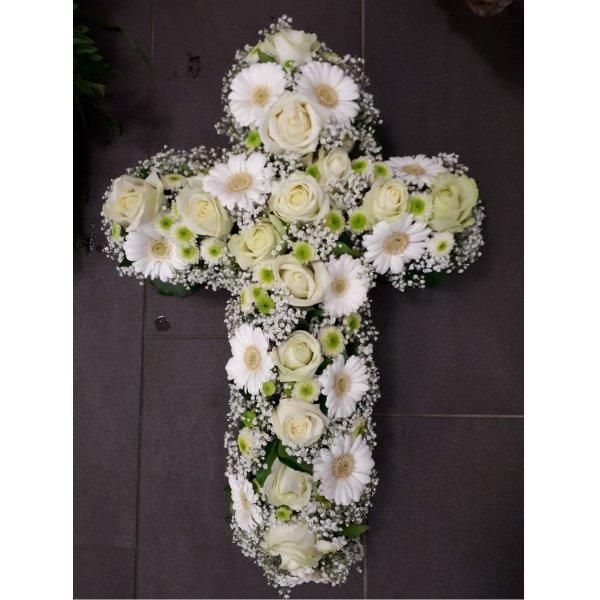 Kreuz weiß Bild 1