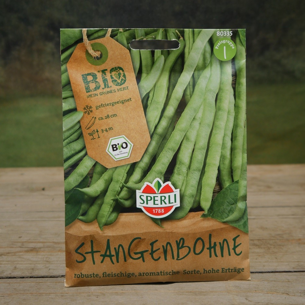 Bio Stangenbohne Bild 1