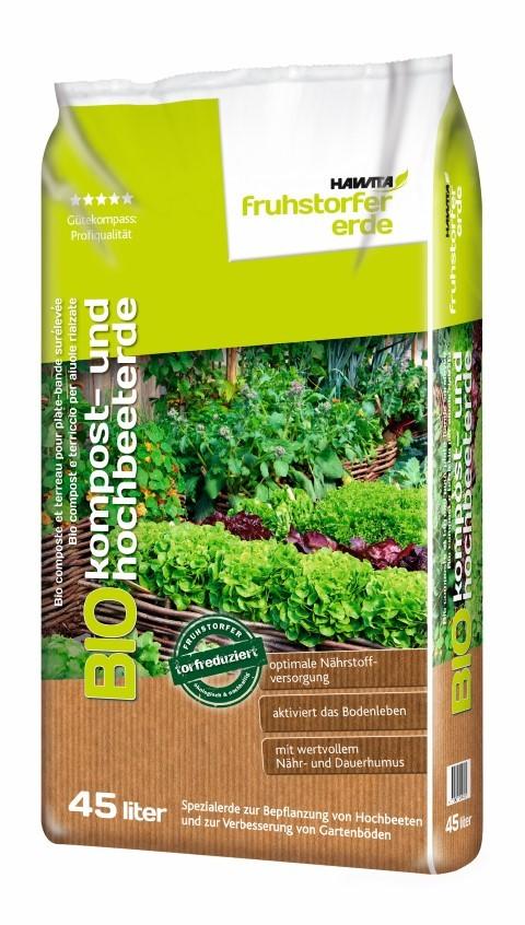 Bio Kompost- und Hochbeeterde Bild 1