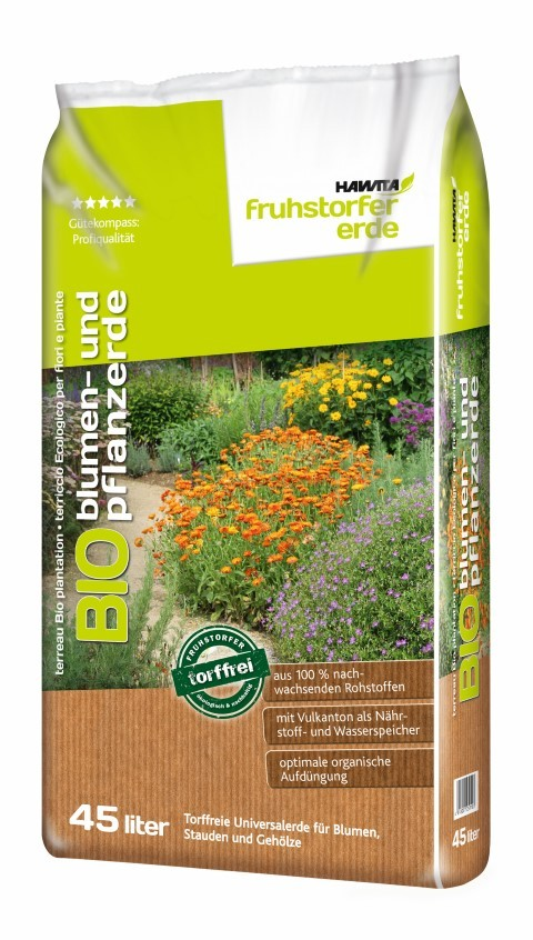 Bio Blumen- und Pflanzenerde Bild 1