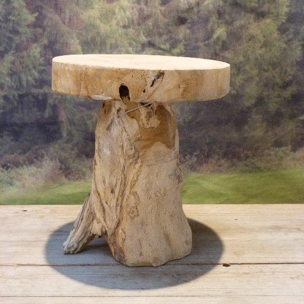 Holz Hocker Bild 1