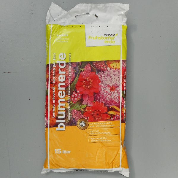 Blumenerde 15 L Bild 1