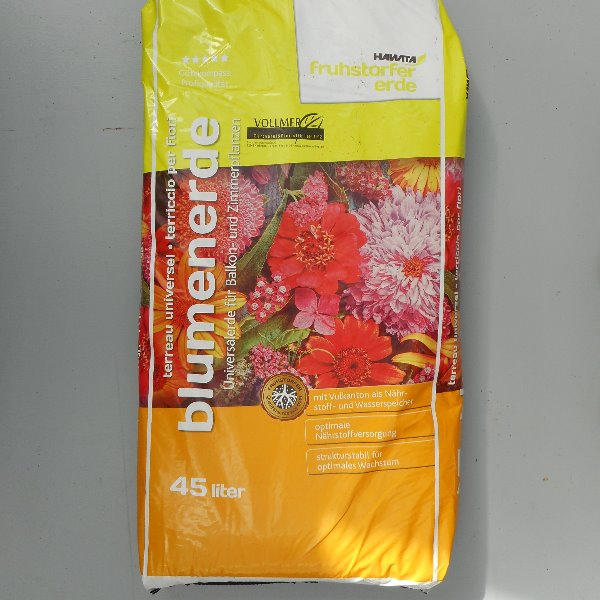 Blumenerde 45 L Bild 1