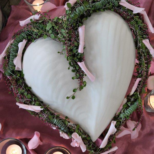 Weißes Herz Bild 1