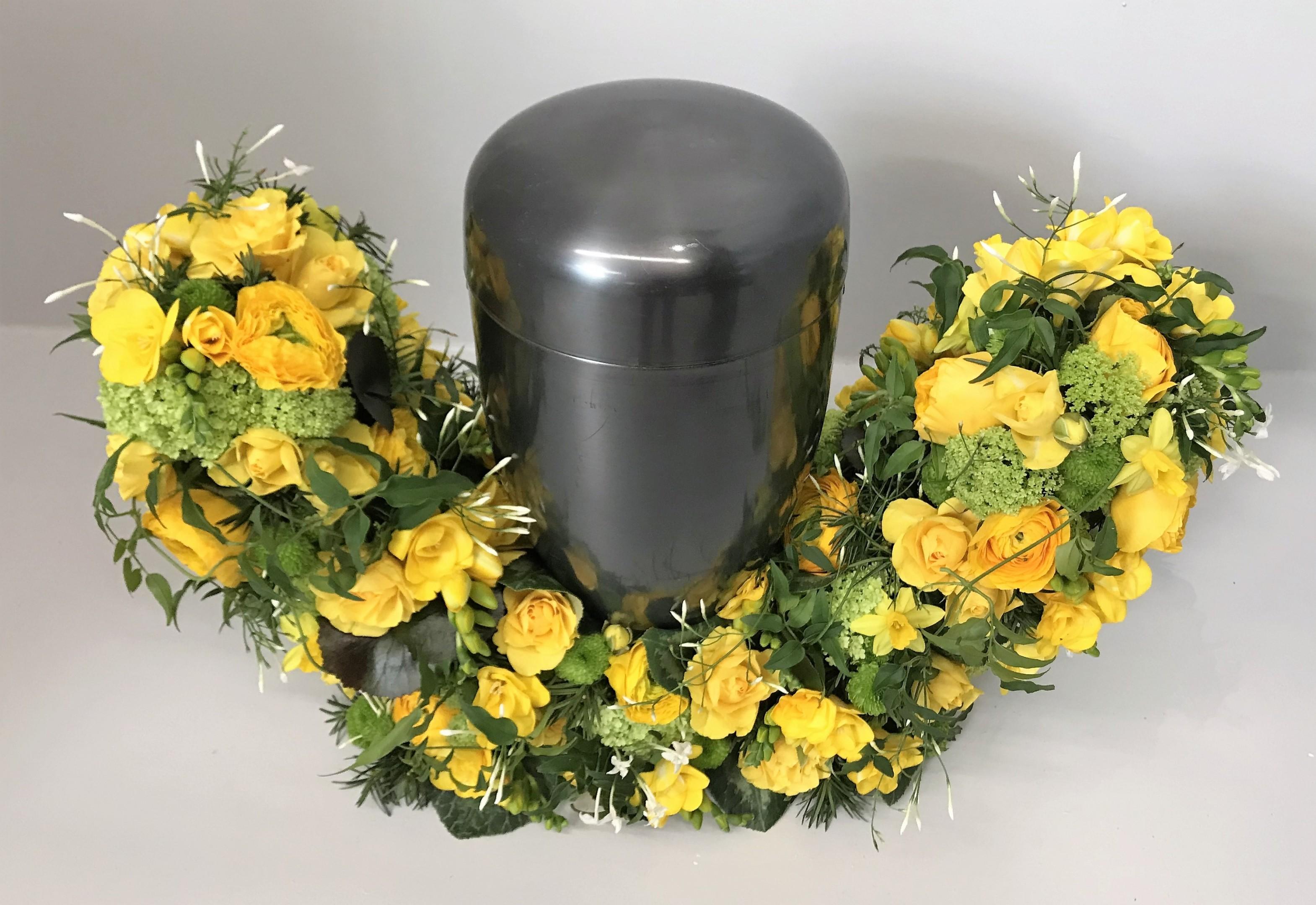 Gelbe Blumenbarke Bild 1