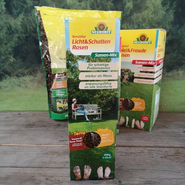 Rasensamen und Rasenreparatur Bild 1
