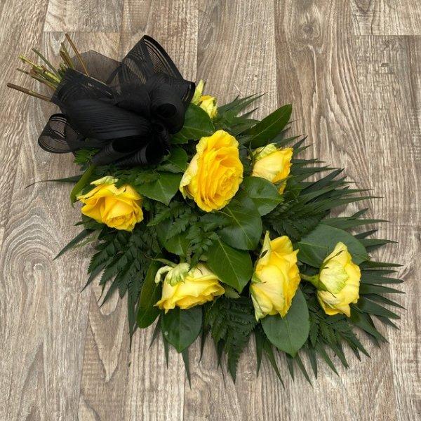 Trauerstrauß Rosen Bild 1