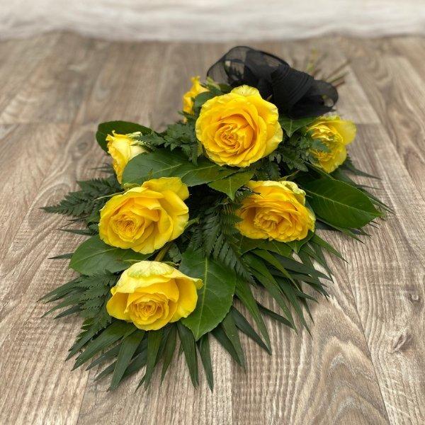 Trauerstrauß Rosen Bild 2