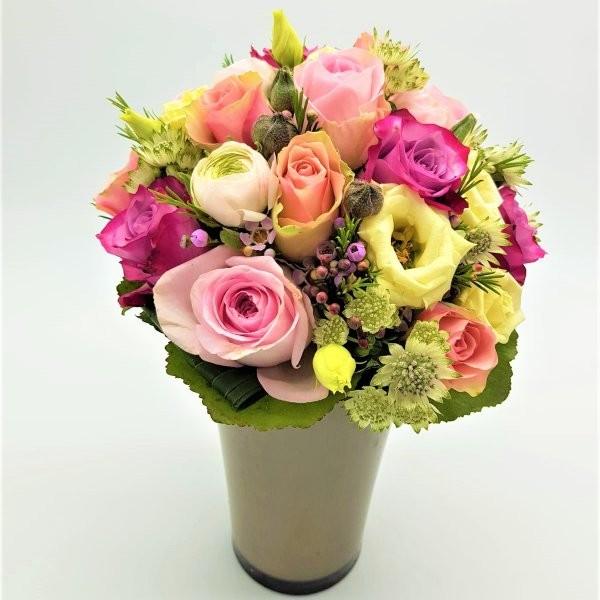 Blumenstrauß bunt Bild 2