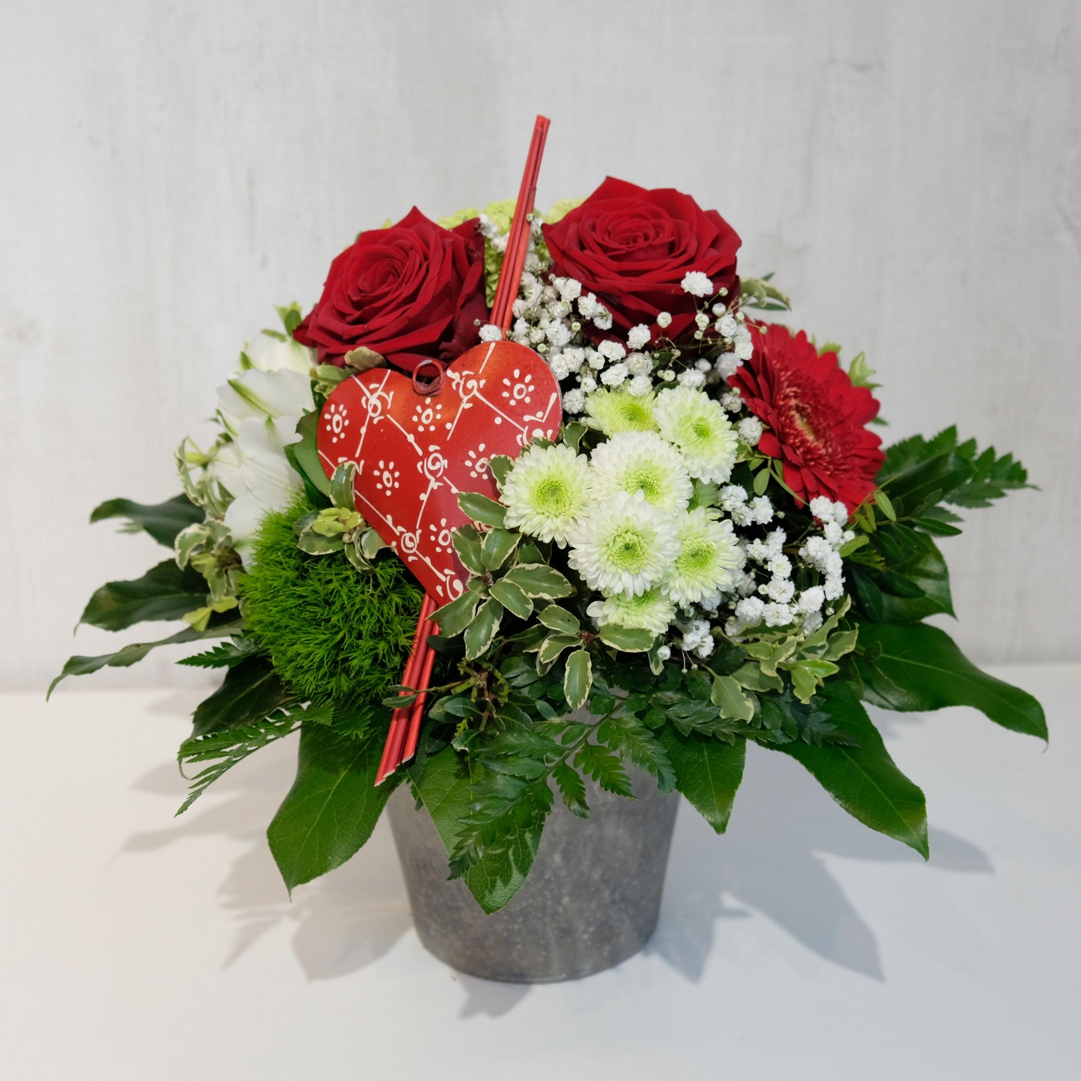 Ausgeschmückter Blumenstrauß Bild 1