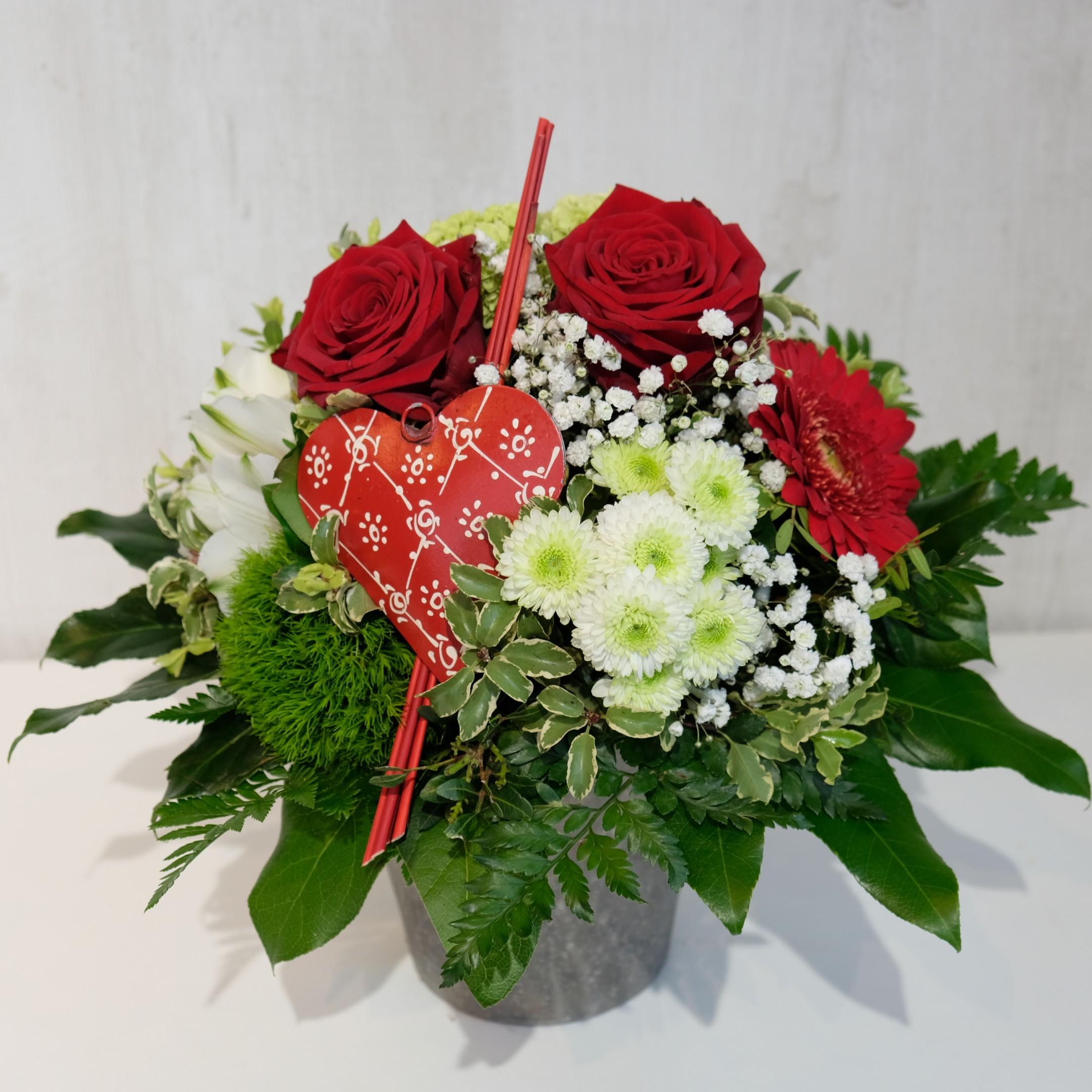 Ausgeschmückter Blumenstrauß Bild 2