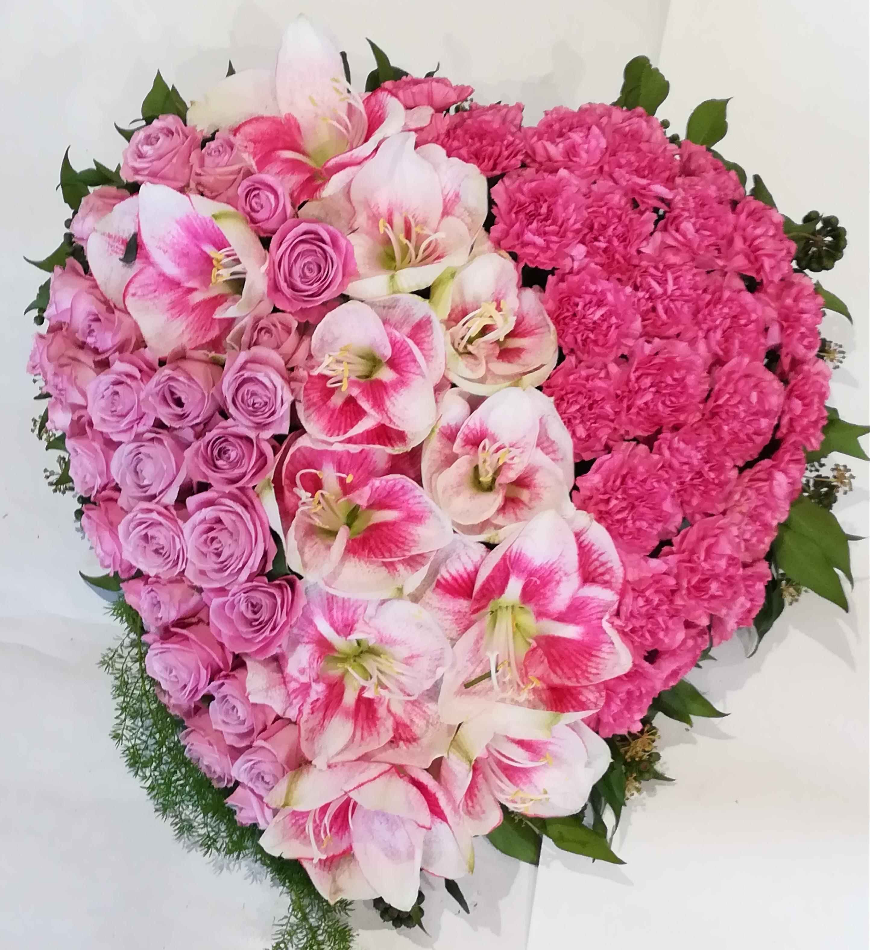 H 9      Rosa Herz Bild 1