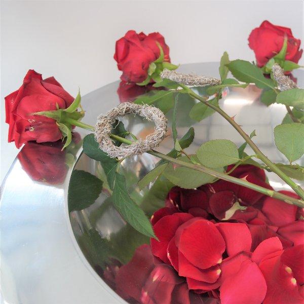 Rose mit Ring Bild 2