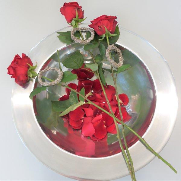 Rose mit Ring Bild 3