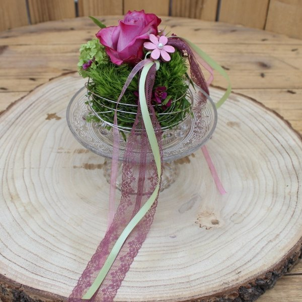 Blumentörtchen Bild 1