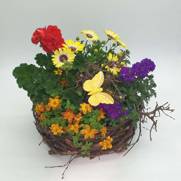 "Blumenkorb ""Muttertagsgrüße"" Bild 1"