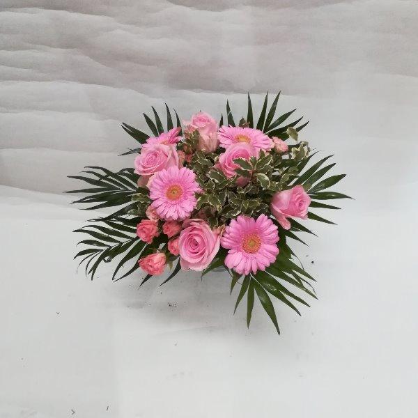 STR 29  Strauß in rosa Bild 1