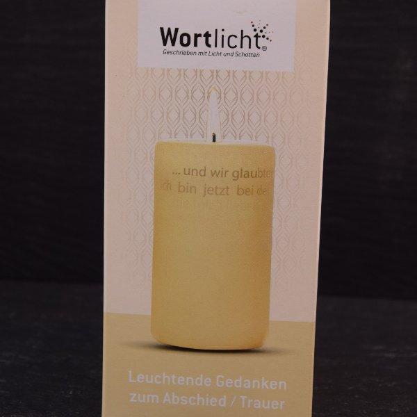 Wortlicht-Kerze Bild 11