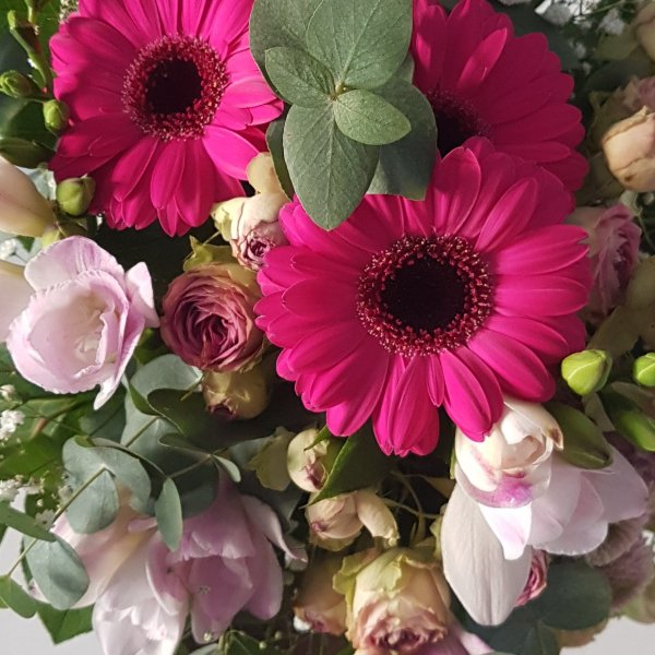 Strauß rosa elegant Bild 2