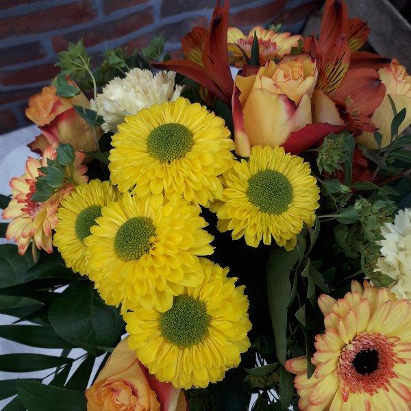 Blumenstrauß gelb-orange Bild 1