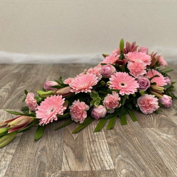 Trauerstrauß- pink/rosa Bild 2