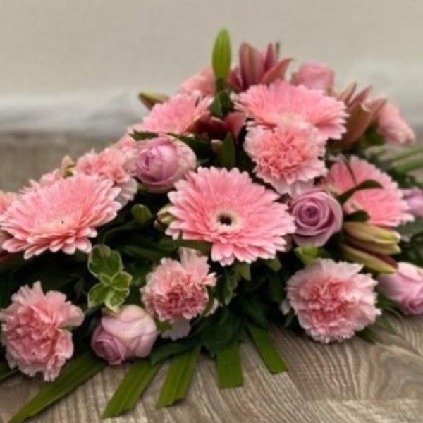 Trauerstrauß- pink/rosa Bild 3