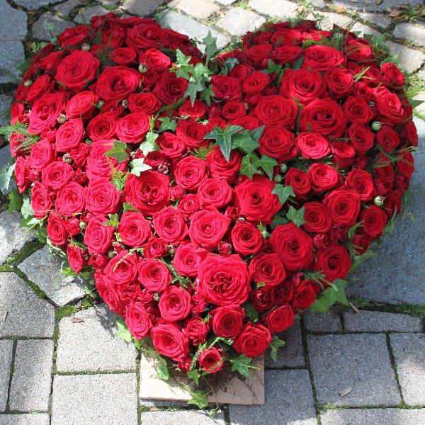 gestecktes Rosenherz, einfarbig Bild 1