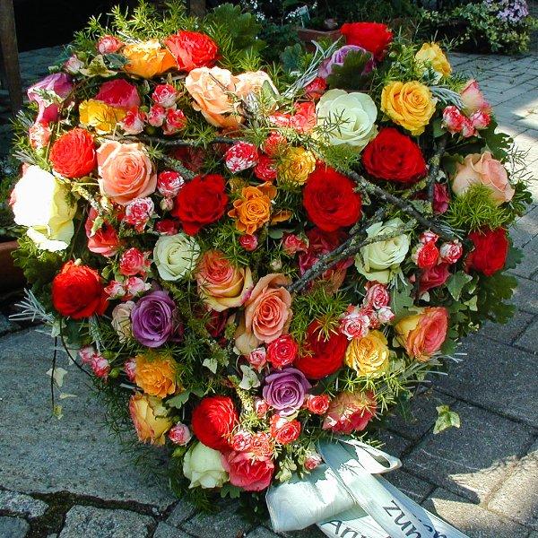 gestecktes Blütenherz Bild 1