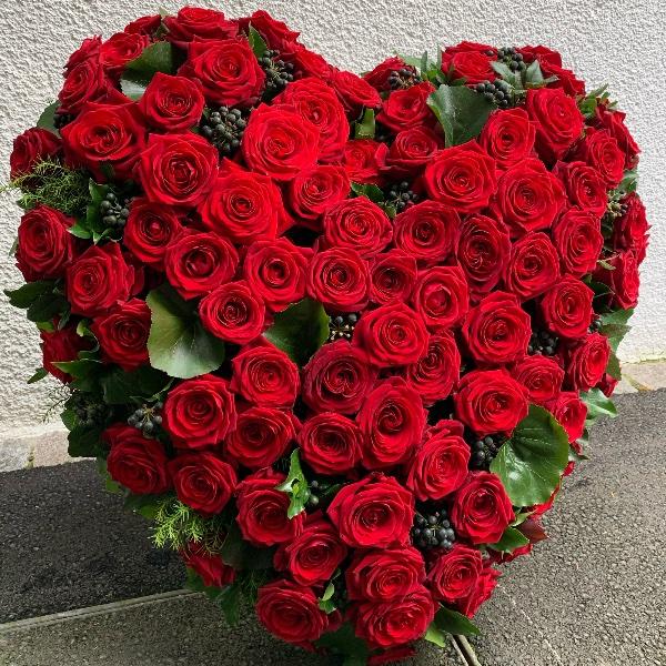 Blütenherz Rosen Bild 1