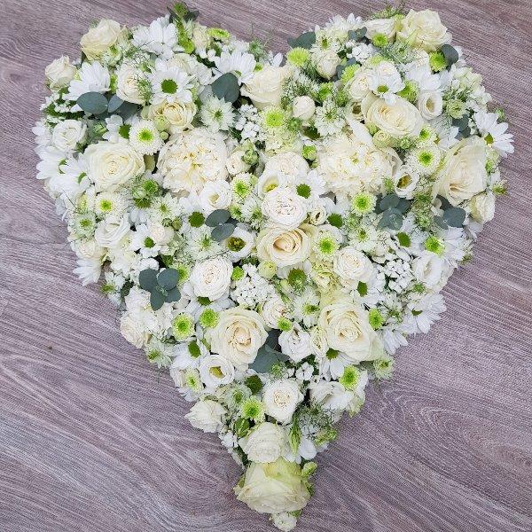 Herz weiße Vielfalt Bild 1
