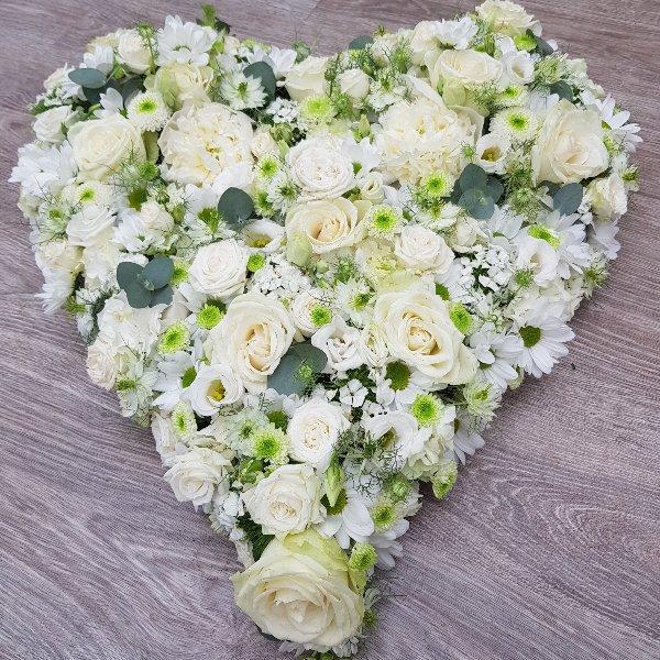 Herz weiße Vielfalt Bild 3