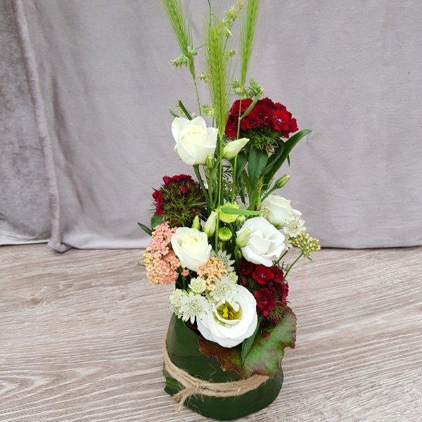 Blumenzauber rot-weiß Bild 1