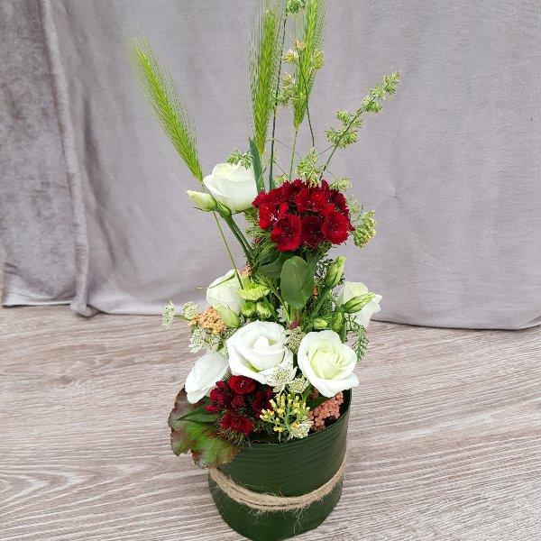 Blumenzauber rot-weiß Bild 3