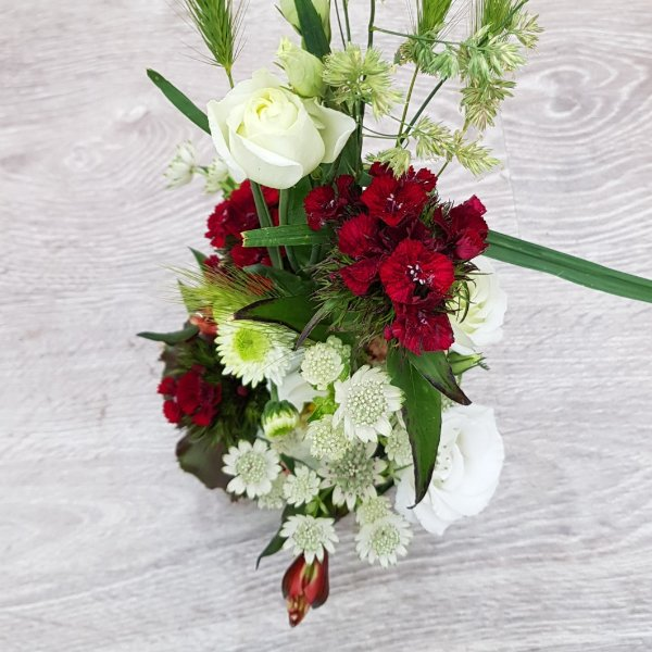 Blumenzauber rot-weiß Bild 2