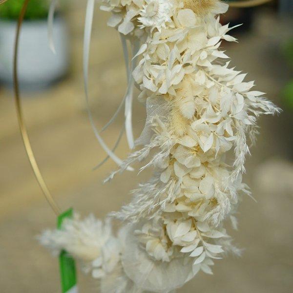 Flowerhoop mit Trockenblumen Bild 1