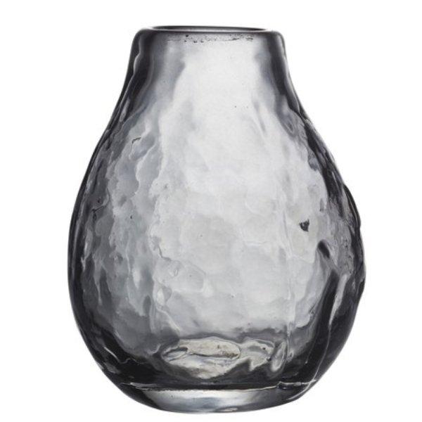 Vasentrio aus Rauchglas Bild 3