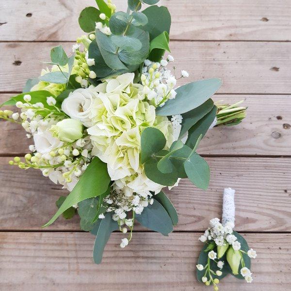 Brautstrauß weiß Bild 3