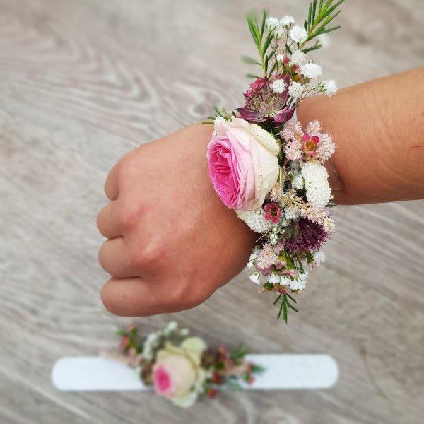 Blumenarmband Excotic Bild 2