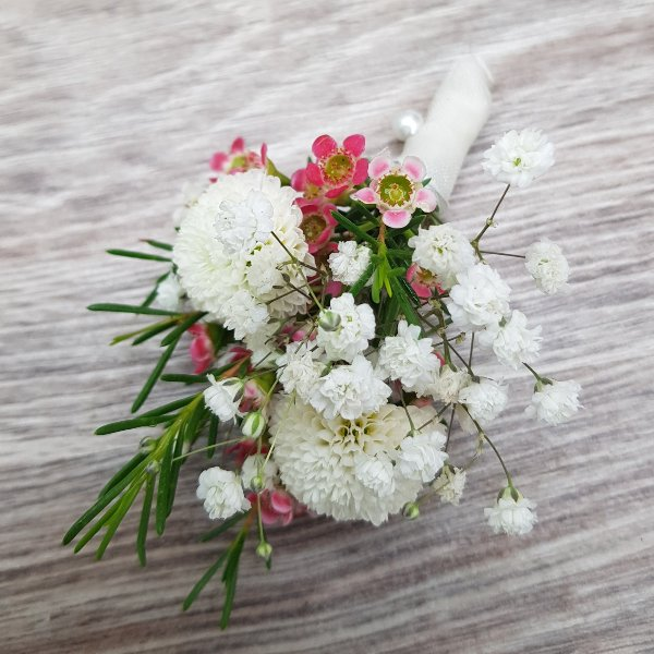 Anstecker Chrysantheme Bild 1