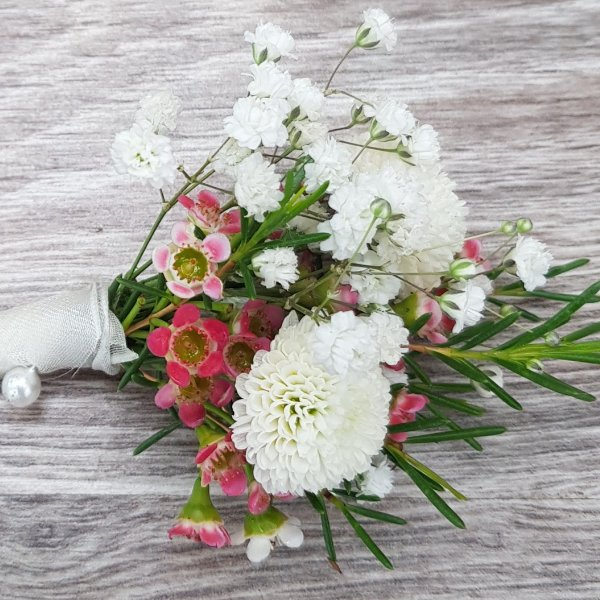Anstecker Chrysantheme Bild 2